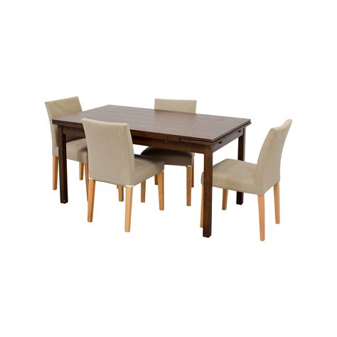 Muji Dining Table 73 Muji Muji Extendable Dining Table With Chairs Tables