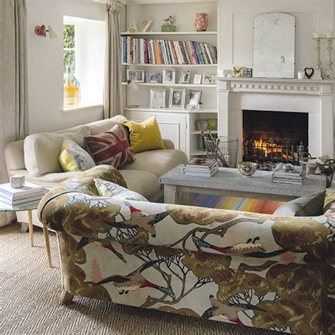 Period Living Room With A White Period Living Room With Statement Sofa Take A Look