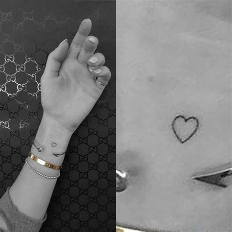 elizabeth tattoo on wrist 241 celebrity heart tattoos steal her style