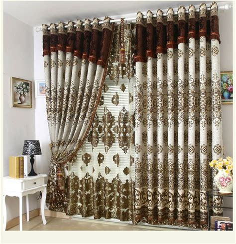 decorative window curtains new decorative window curtain villa curtains living room