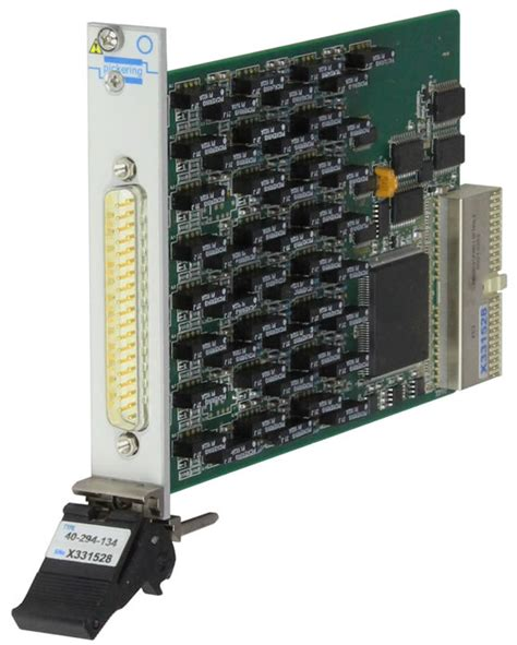 programmable resistor module pxi可编程电阻模块2 通道3至131k欧姆 spst 40 294 034 pxi模块 pxi机箱 pickering interfaces 英国科林公司 虹科