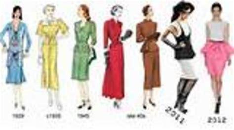 fashion illustration through the years evoluci 243 n de la moda timeline timetoast timelines