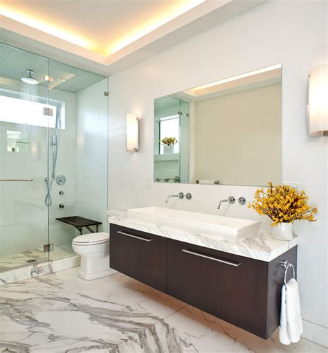 Dumican Mosey Architects Russian Hill Penthouse Master Bathroom Fixtures San Francisco