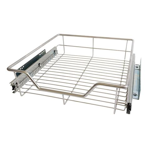 wire drawers for kitchen cabinets 5 x 500mm pull out chrome wire basket drawers for kitchen