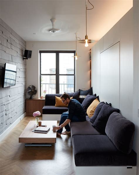 Small Modern Living Room Design - small space living in a soho apartment in 2019 modern