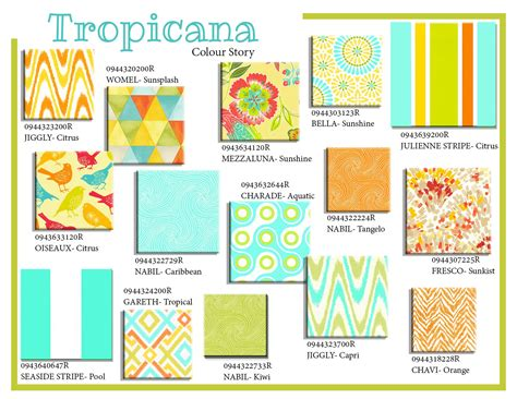 Summer Home Decor tropicana