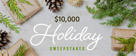 Real Simple Holiday Sweepstakes - 10 000 holiday sweepstakes contact information southern living