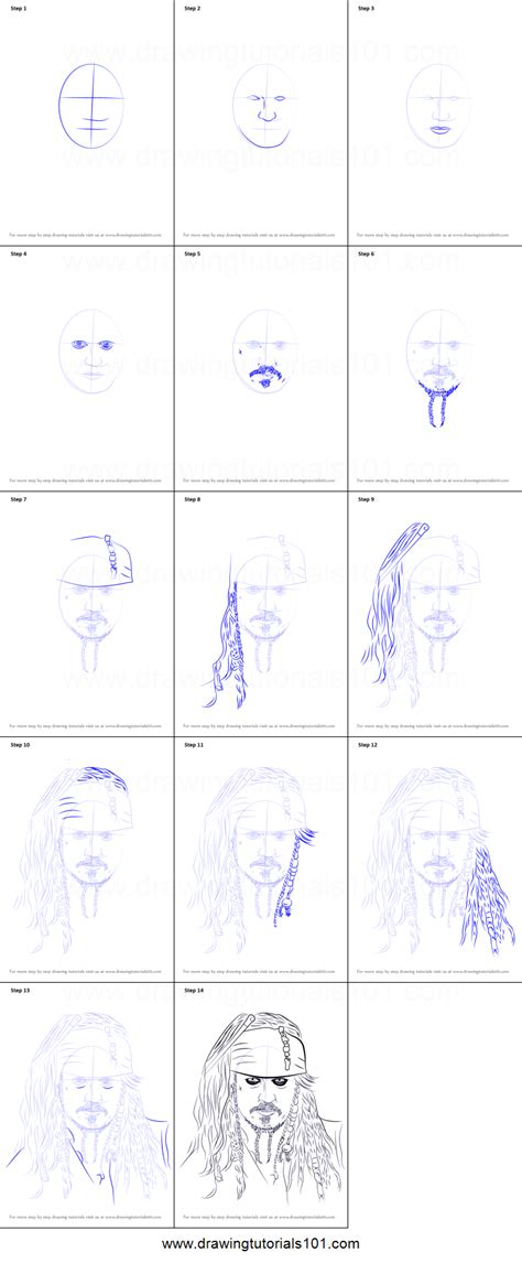 how to draw jack sparrow easy step by step characters pop culture 3053 how to draw sparrow easy drawing for kids step by