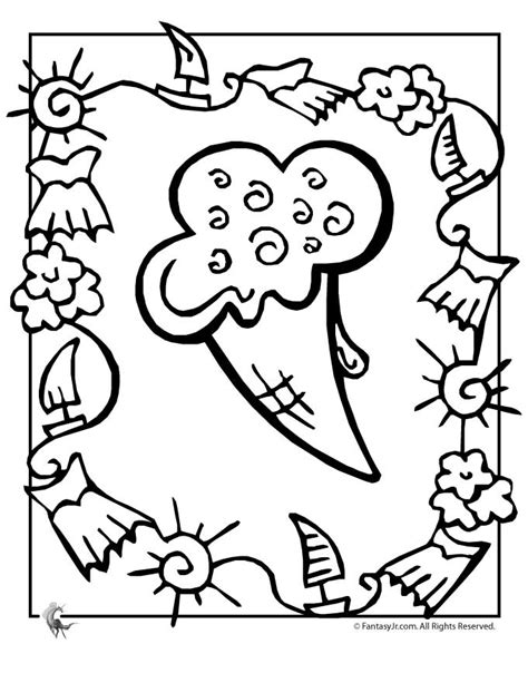summer ice cream coloring pages summer ice cream coloring page woo jr kids activities