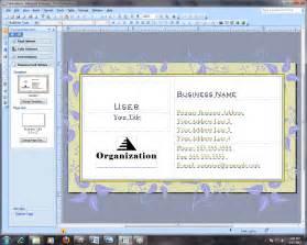 cara membuat kartu nama lewat ms word cara membuat kartu nama dari ms publisher nurhasanah
