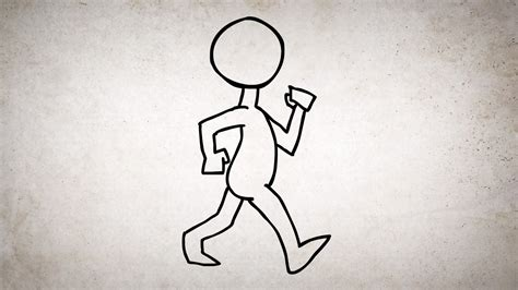 how to walk alan becker animating walk cycles