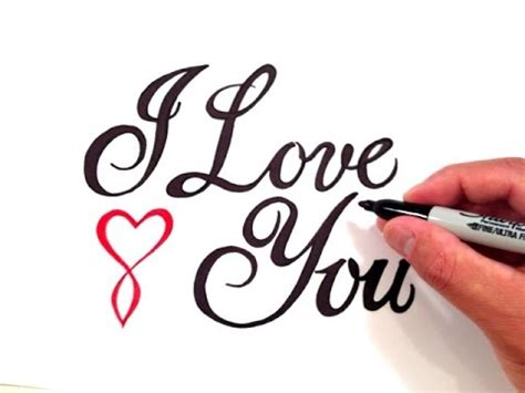 image gallery love written in cursive