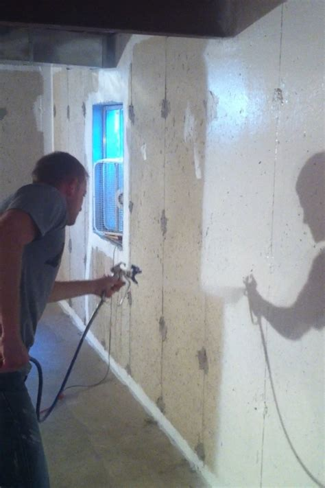 paint basement walls basement waterproofing paint does it stop leaks on basement walls