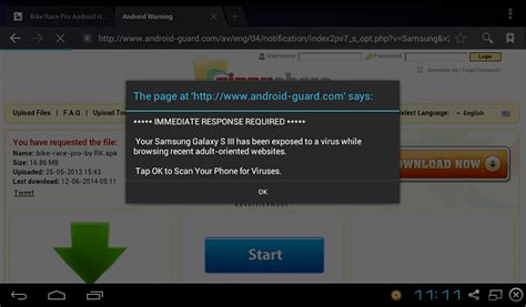 can androids get viruses popup says quot your cell may a virus quot android forums at androidcentral