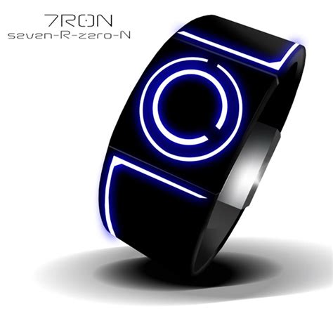 coolest latest gadgets spatially telling time modern latest cool wearing gadgets 7r0n tron inspired watch