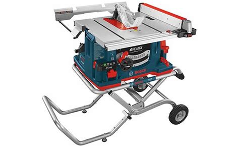 Table Saw Bosch by Bosch Gts1041a Reaxx Jobsite Table Saw Tool Box Buzz