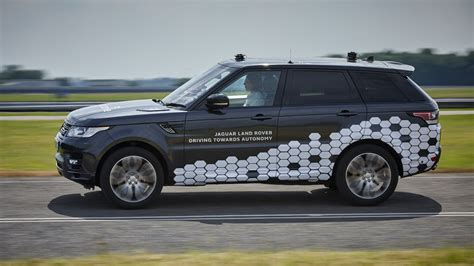 land rover car jaguar land rover begins trialling driverless car