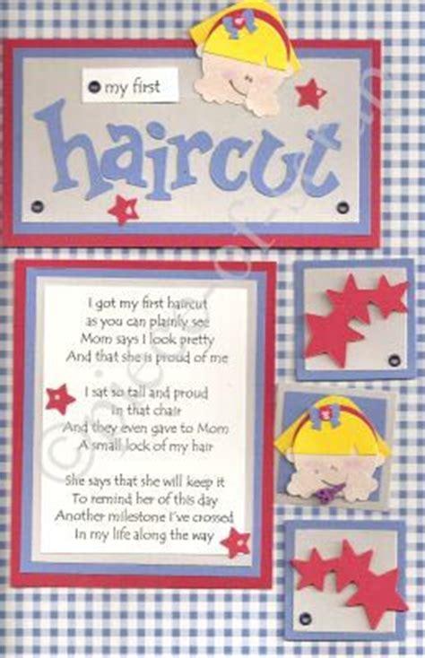 scrapbook layout for first haircut scrapbook ideas scrapbook pages piece of scrap babies