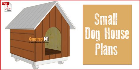 dog house online small dog house plans step by step construct101