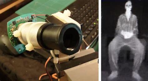 diy thermal diy arduino thermal imaging
