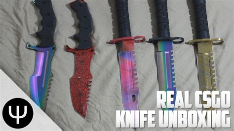 real knives real cs go knife unboxing part 2