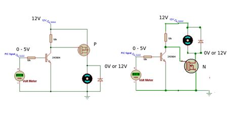 power transistor vs mosfet mosfet usage and p vs n channel electrical engineering stack exchange