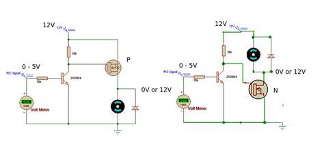 transistor vs resistor irf520 versus irf540