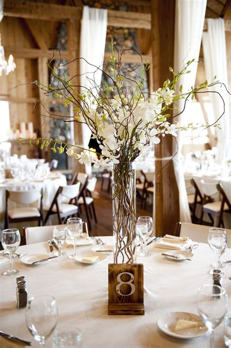 wedding centerpieces diy uk 2 orchid and willow branch centerpieces wedding ideas
