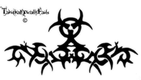 biohazard tribal tattoo tribal biohazard by tabithaepicallyfails on deviantart