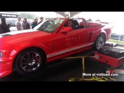 shelby gt  dyno test   wrong youtube