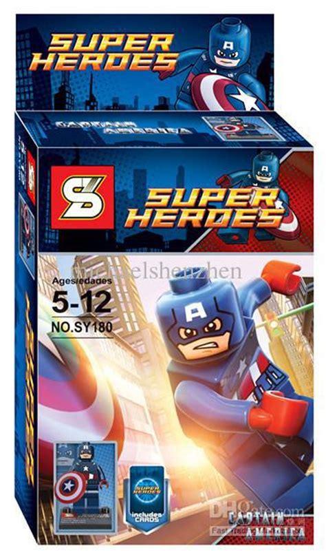 Block Lego Minifigure Iron 1 Set 8 Pcs Termurah heroes the iron batman wolverine