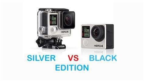 Gopro Hero4 Black Vs Silver gopro hero4 silver vs black edition comparison
