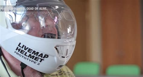 motorcycle helmet augmented reality is an augmented reality motorcycle helmet still forthcoming