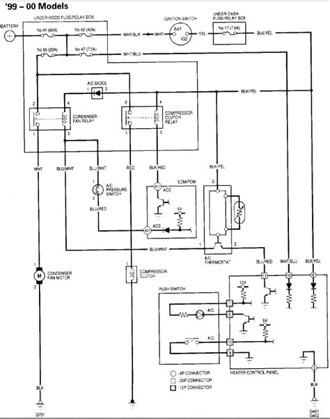 99 civic wiring diagram 99 civic heater ac blower fuse blowing honda tech honda forum discussion