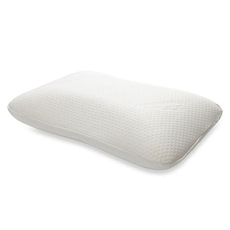 bed bath and beyond tempurpedic pillow tempur pedic 174 symphony pillow www bedbathandbeyond com
