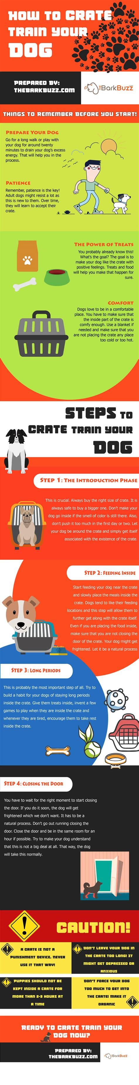 how to crate my puppy how to crate your infographic