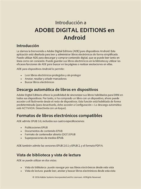 adobe digital editions android adobe digital editions aplicaciones de android en play