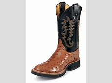 Justin 5014 Men's Tekno Crepe Western Boot with Cognac ... Justin Boots For Men