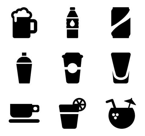 drink icon png alcohol icons 1 546 free vector icons