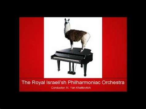 Internet Meme Song - llama song cover gallop infernale internet joke piece