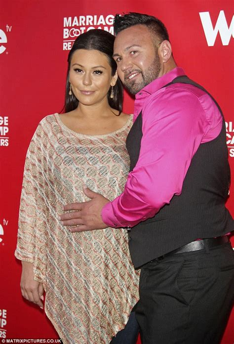 Snookis Wedding – JWoww in fitted black dress for Snooki's Great Gatsby