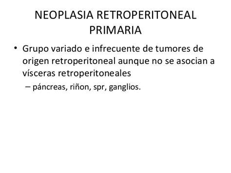 define collocate lectura de caso 18 marzo leiomiosarcoma retroperitoneal