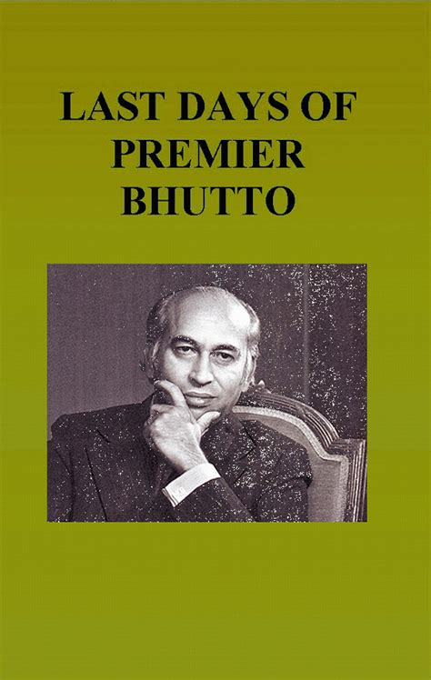 the days of my books e book last days of premier bhutto