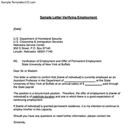 Reference Letter Proof Of Employment brilliant ideas of proof of employment reference letter