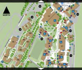 Western Washington University Map by Campus Accessibility Map Western Washington University