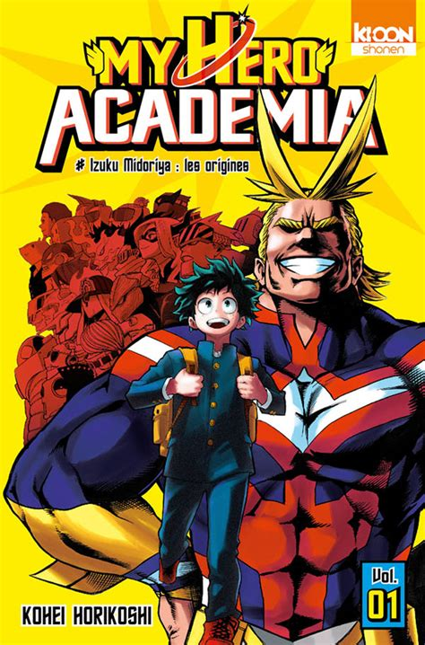my hero academia 01 le manga my hero academia annonc 233 chez ki oon manga mag