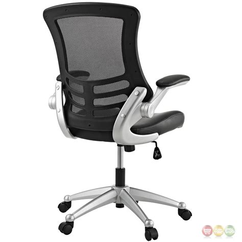 Office Chair Back by Attainment Modern Ergonomic Mesh Back Office Chair W
