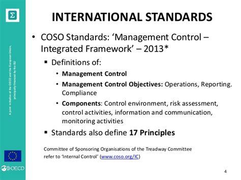 coso internal control integrated framework principles the international context phil duncombe amman 4 5