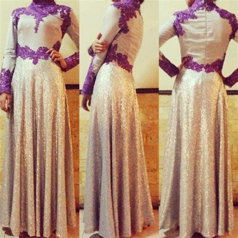 design gaun pesta hijab 25 best gaun muslim pesta images on pinterest dress
