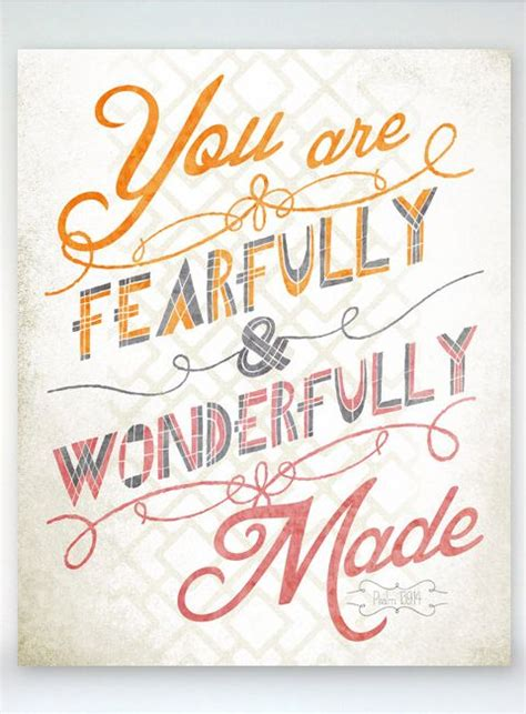 psalms fearfully wonderfully made and you are on